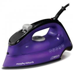 Si buscas Purple Morphy Richards Breeze 2400W Ceramic Ionic Steam Iron Ironing Clothes puedes comprarlo con FERRETERIAFERRESERVI está en venta al mejor precio