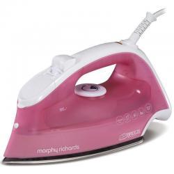 Si buscas Pink Morphy Richards Breeze 2400W Steam Iron/Ironing Clothes/Garment w/3m Cord puedes comprarlo con FERRETERIAFERRESERVI está en venta al mejor precio