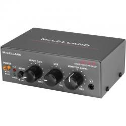 If you are looking Mclelland Phono Preamp With Line In Usb Rip and Gain Control RIAA Standard you can buy to KG Electronic, It is on sale at the best price