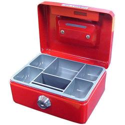 If you are looking Red Mini Portable Sturdy Metal Cash/Money Box Organiser/Coins/Safe/Keys/Lock you can buy to KG Electronic, It is on sale at the best price