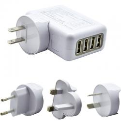 If you are looking Universal World travel adapter 4 USB Plugs Charger AC power UK US EU AU NZ you can buy to KG Electronic, It is on sale at the best price