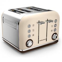 Si buscas Morphy Richards 242101 Sand Toaster Matte Chrome Accents 4 Slice Stainless Steel puedes comprarlo con PHOTOSTORE está en venta al mejor precio