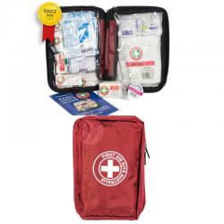 If you are looking Red Essential First Aid Kit Home/Car/Travel/Travelling Safety Medical Injury you can buy to KG Electronic, It is on sale at the best price