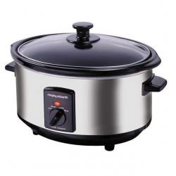 If you are looking Morphy Richards 48710 3.5L Electric Stainless Steel Slow Cooker/Ceramic Pot/Pan you can buy to KG Electronic, It is on sale at the best price