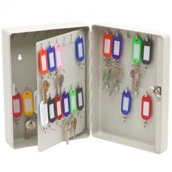 If you are looking 46 Hooks Wall Mountable Sturdy Metal Key Keyring Safe Box Caddy/Organiser/Tags you can buy to KG Electronic, It is on sale at the best price