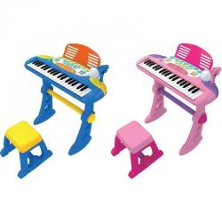 If you are looking 37 Key Kids Electronic Keyboard Piano Organ Toy with Microphone Music play kids you can buy to KG Electronic, It is on sale at the best price