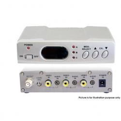 If you are looking Pro2 Antenna Satelite Foxtel RF Modulator 3X IR/Audio Video Inputs Distributer you can buy to KG Electronic, It is on sale at the best price