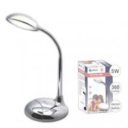 If you are looking Sansai LED Desk Lamp Flexible Gooseneck Arm 5W Table/Office Desk Light Chrome you can buy to KG Electronic, It is on sale at the best price