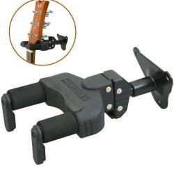 Hercules GSP39WB Guitar Hanger/Steel Swivel Wall Mount/Short Arm/Auto Grip/Lock