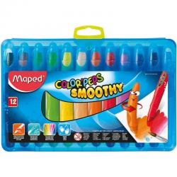 If you are looking 12 Maped Color'Peps Smoothy Colouring Drawing Paint Gel Watercolour Crayons Kids you can buy to KG Electronic, It is on sale at the best price