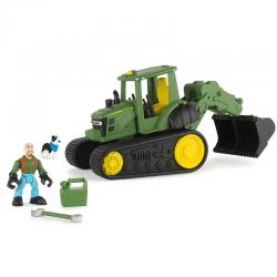 If you are looking John Deere 29cm Tomy Gear Force Scoop Tractor Vehicle/Car Farmer Dog Kids Toy you can buy to KG Electronic, It is on sale at the best price