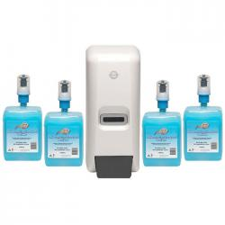 If you are looking Northfork Liquid Soap Dispenser & 4x 1L Hand-wash/Sanitiser Cartridges Pack/Kit you can buy to KG Electronic, It is on sale at the best price