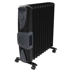 Dimplex 2400W Black Eco Oil Free Column Heater w/ Turbo Fan/Thermostat Control