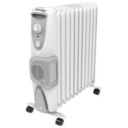 Dimplex 2400W White Eco Oil Free Column Heater w/ Turbo Fan/Thermostat Control
