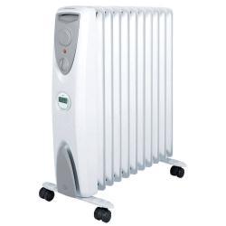 Dimplex White 2400W Portable Eco Column Heater 11 Fin/Timer/Thermostat Heat