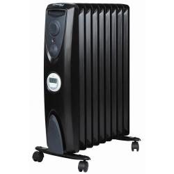 Dimplex Black Eco 2400W Oil free Fin Column Heater 7 Day Timer Freestanding Heat