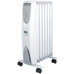 Dimplex 1500W Freestanding 7 Column Heater w/ Timer/Castors Portable Heating