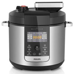 Philips HD2178 6L Electric Digital Automatic Non-stick Fast/Slow Pressure Cooker