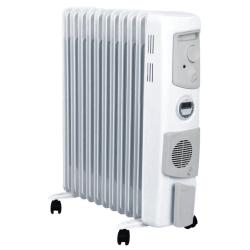 Dimplex 2400W Freestanding Oil Column Heater Portable Heating w/ Timer/Fan