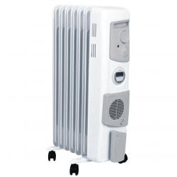Dimplex 1500W Freestanding Oil Column Heater Portable Heating w/ Timer/Fan
