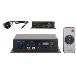 If you are looking Wall Compact Stereo Audio Power Amplifier/Volume Remote Control/IR for 2 Speaker you can buy to KG Electronic, It is on sale at the best price