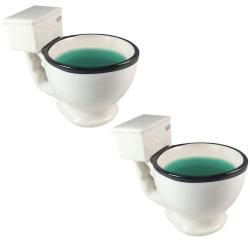 If you are looking 2PK BigMouth Toilet Coffee Mug Large Big Ceramic Novelty Soup Tea Cup Holder you can buy to KG Electronic, It is on sale at the best price