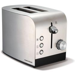Morphy Richards 44208 Accents 2 Slice Toaster Brushed Stainless Steel/Chrome