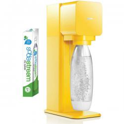 Soda Stream Play Yellow Home Soft Fizzy Bubble Sparkling Drinks Maker SodaStream