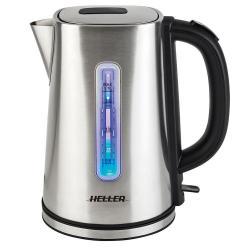 Heller HSK17 1.7L Stainless Steel Kettle Cordless Water Boiler/Jug Kitchen 2200W