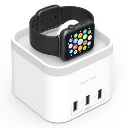 Si buscas PowerTime Apple Watch Charging Dock w/ 3 USB Charging Ports for iPhone/Android puedes comprarlo con TUBELUXUY está en venta al mejor precio