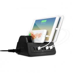 Si buscas Gorilla Power Dock 5-Port USB Charging Dock w/ 2 Way Socket 60W for iPhone/iPad puedes comprarlo con TUBELUXUY está en venta al mejor precio