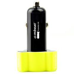 Si buscas mbeat Triple Port Rapid Car Charger USB 4.8A/24W for Samsung/iPad/iPhone Yellow puedes comprarlo con TUBELUXUY está en venta al mejor precio