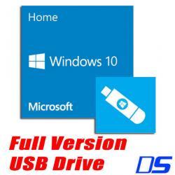 Si buscas Microsoft Windows 10 Home Full Version (32 & 64-bit) USB Flash Disk Drive puedes comprarlo con VENTRONIC está en venta al mejor precio