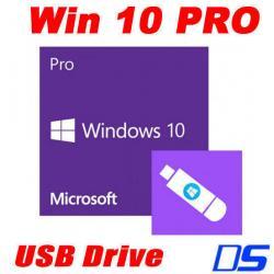 Si buscas Microsoft Windows 10 Professional Full Version 32 & 64-bit USB Flash Disk Drive puedes comprarlo con VENTRONIC está en venta al mejor precio