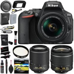 If you are looking Nikon D5500 DX DSLR Camera + AFP 18-55 VR II + AFS NIKKOR VR II Lens Kit you can buy to ritzcameras, It is on sale at the best price