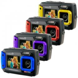 If you are looking Ivation 20MP Underwater Waterproof Digital Camera w/Full-Color Selfie Display you can buy to ritzcameras, It is on sale at the best price