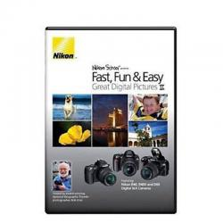 Fast Fun Easy II SLR Instructional DVD For Nikon D60 D3000 D300S D5000 D700