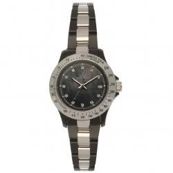 Toy Watch Women's 21207-SL Heavy Metal Plasteramic Black Mother-Of-Pearl Watch
