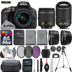 If you are looking Nikon D5600 Digital SLR Camera + 18-55mm VR + 55-200mm VR II + EXT BATT + 64GB you can buy to tri-state, It is on sale at the best price