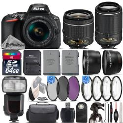 If you are looking Nikon D5600 DSLR Camera + 18-55mm VR Lens + 55-200mm VR II + Flash - 64GB Kit you can buy to tri-state, It is on sale at the best price