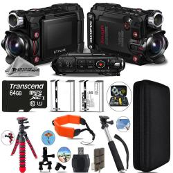 If you are looking Olympus Stylus Tough TG-Tracker Action Camera Black +64GB- Essential Kit Bundle you can buy to tri-state, It is on sale at the best price