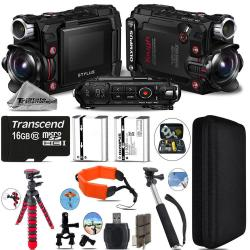 If you are looking Olympus Stylus Tough TG-Tracker Action Camera Black + 16GB- Essential Kit Bundle you can buy to tri-state, It is on sale at the best price
