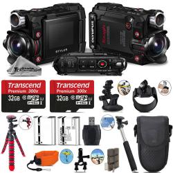 If you are looking Olympus Stylus Tough TG-Tracker Action Camera Black + Extra Batt - 64GB Bundle you can buy to tri-state, It is on sale at the best price
