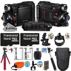 If you are looking Olympus Stylus Tough TG-Tracker Action Camera Black + Extra Batt - 32GB Bundle you can buy to tri-state, It is on sale at the best price