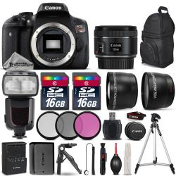 If you are looking Canon EOS Rebel T6i DSLR Camera + 50mm 1.8 STM + Flash + Extra Battery -32GB Kit you can buy to tri-state, It is on sale at the best price