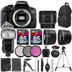 If you are looking Canon EOS Rebel T6i DSLR Camera + 50mm 1.8 STM + Flash + Tripod Grip - 64GB Kit you can buy to tri-state, It is on sale at the best price
