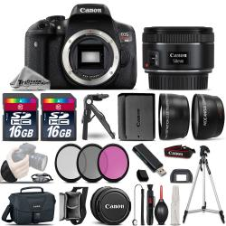 If you are looking Canon EOS Rebel T6i SLR Camera + 50mm 1.8 STM -3 Lens Kit + 32GB + Extra Battery you can buy to tri-state, It is on sale at the best price