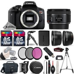 If you are looking Canon EOS Rebel T6i DSLR Camera + 50mm 1.8 STM - 3 Lens Kit + 64GB + Much More! you can buy to tri-state, It is on sale at the best price