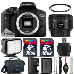 If you are looking Canon EOS Rebel T6i Camera + 50mm 1.8 STM + LED + CASE + Extra Battery -32GB Kit you can buy to tri-state, It is on sale at the best price