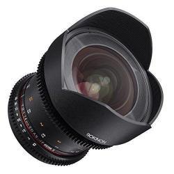 Rokinon Cine DS DS14M-C 14mm T3.1 ED AS IF UMC Full Frame Cine Wide Angle Lens